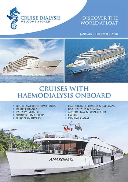 Cruise Dialysis Welcome Aboard - Cruise ship brochure